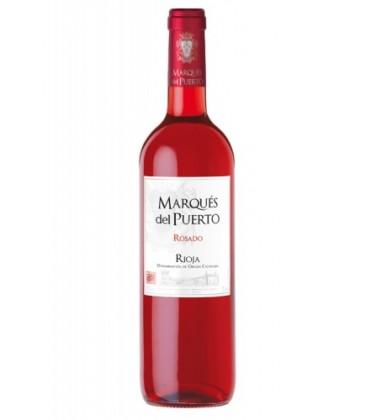 marques del puerto rosado 2014 - vino rosado - la rioja