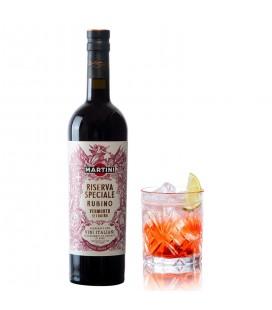 Martini Riserva Speciale Rubino + 1 Vaso Tallado Martini