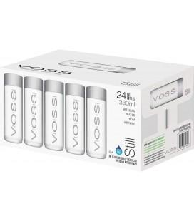 Agua Voss 330 cl. pet Caja 24 und.