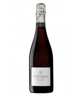 Titiana Brut Rose Pinot Noir 75cl.