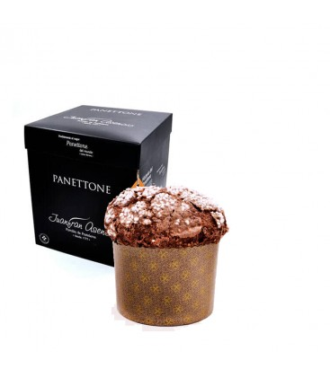 Panettone De Chocolate Juanfran Asencio Mini.