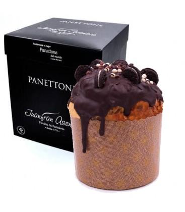 Panettone Cubierto y Relleno De Chocolate Juanfran Asencio 550 gr.