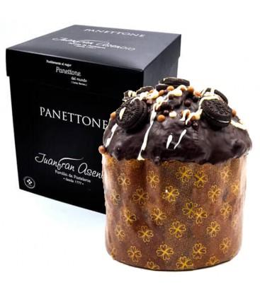 Panettone Cubierto y Relleno De Chocolate Blanco Juanfran Asencio 550gr.