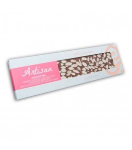 Turrón De Chocolate Fondant Con Almendra Marcona Artisan Collection 220gr.