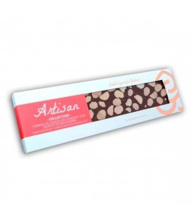 Turrón De Chocolate Fondant Con Nueces De Macadamia Artisan Collection 220gr.