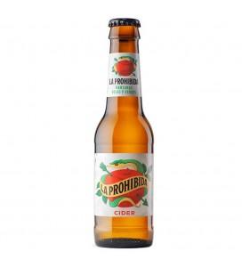 La Prohibida Cider 25cl. Caja-24 und.
