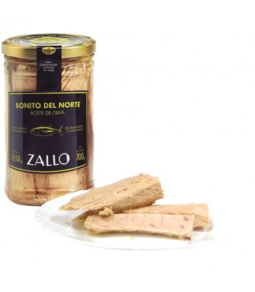 Lomos De Bonito Del Norte Zallo En Aceite De Oliva 1000gr.