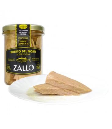Lomos De Bonito Del Norte Zallo en Aceite De Oliva 400gr.