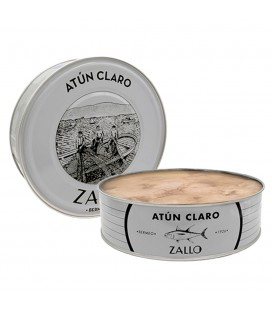 Atún Claro zallo En Aceite De Girasol 1800gr.