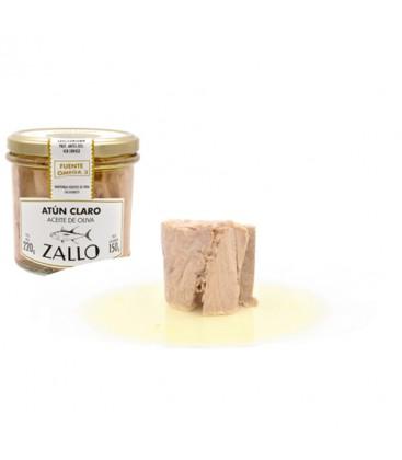 Lomos De Atún Claro Zallo En Aceite De Oliva 220gr.