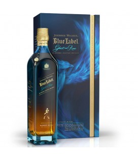Jonnie Walker Blue Ghost And Rare Glenury Royal 70cl.