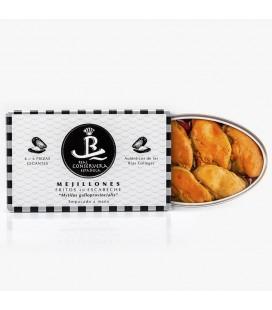 Mejillones Fritos En Escabeche 6/8 Real Conserva Española 80gr.