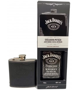 Jack Daniel´s No.7 + Petaca Exclusiva.