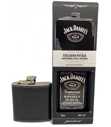 Jack Daniel´s No.7 + Petaca Exclusiva.