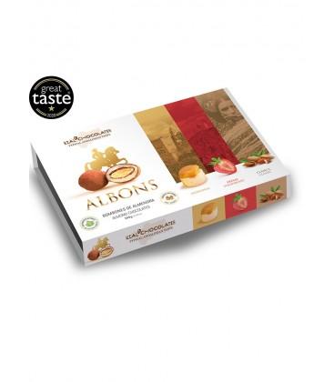 Estuche Albons Piononos, Fresa, Clásica Rial Chocolates 180gr.
