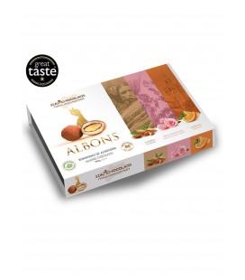 Estuche Albons Clasica, Rosa Andaluza, Naranja Rial Chocolates 180gr.