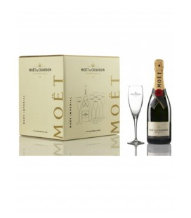 Moet & Chandon Brut Imperial Pack All In One + Copas