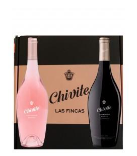 Estuche 2 Botellas Chivite Blanco y Rosado