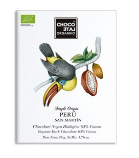 Choco Late Organiko Perú 65% Chocolate Negro 50gr.