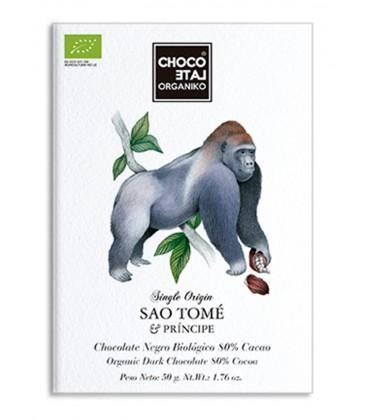 Choco Late Organiko Sao Tomé 80% .