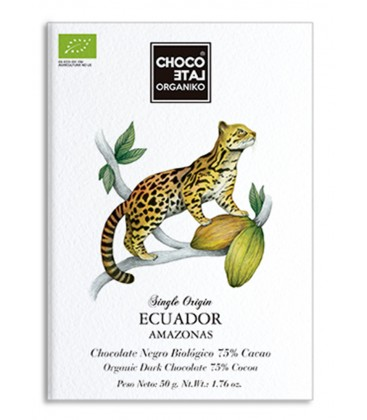 Choco Late Organiko Ecuador 75%