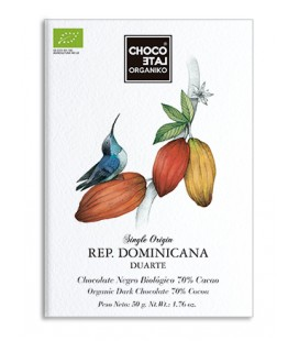 Choco Late Organiko Rep Dominicana 70%