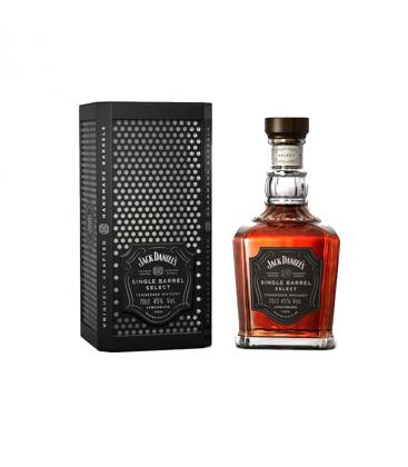 Jack daniel´s Single barrel Select Estuche Metalico.