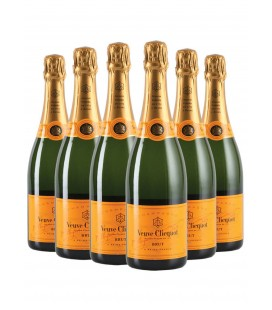 Veuve Clicquot Yellow Label 6 Pack .