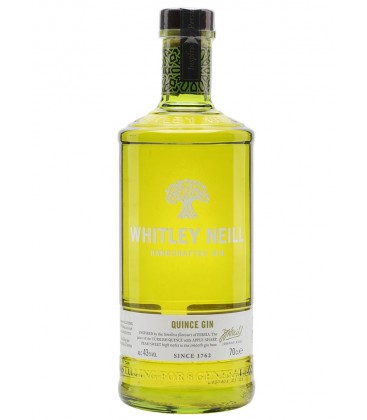 Whitley Neill Quince Gin 70cl.