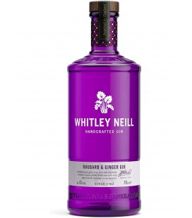 Whitley Neill Rhubarb & Ginger Gin 70cl.