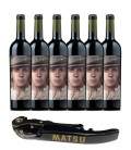 Pack 6 Botellas Matsu El Picaro + Abridor Profesional