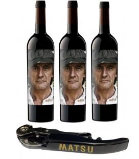 Pack 3 Botellas Matsu El Recio + 1 Abridor Profesional