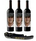 Pack 3 Botella Matsu El Recio + 1 Abridor Profesional