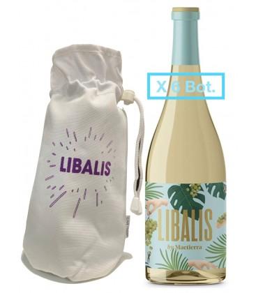 Pack 6 Botella Libali + Funda Termica