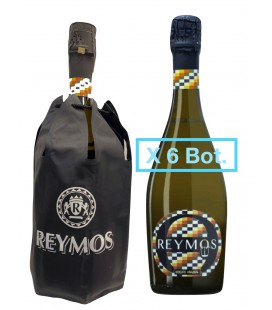 Pack 6 Botellas Reymos Classic + Funda Termica