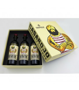 Box Machoman Monastrell 3 Botellas
