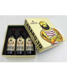 Box Machoman Monastrell 3 Botellas