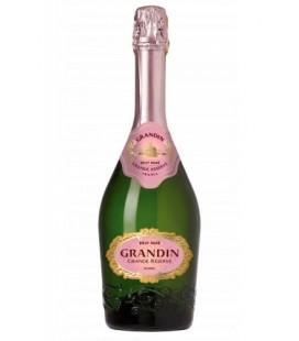 grandin grande reserve brut rrose - vino espumoso - grandin - cremant de loire