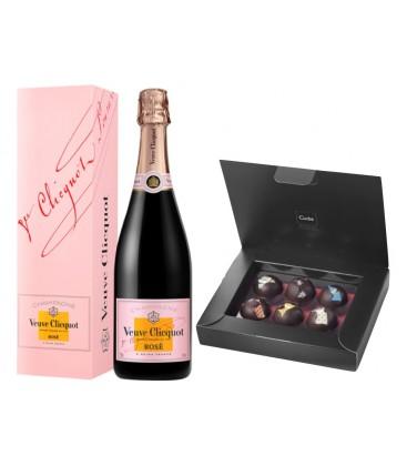veuve clicquot rose - comprar champagne rosado - champagne - veuve