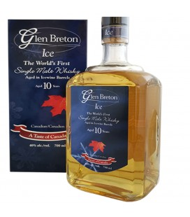 Glen Breton Ice Wine Barrel Whisky 10 Años