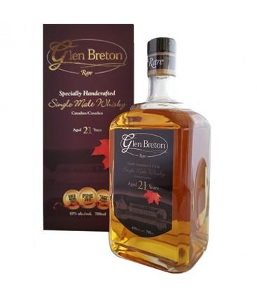 Glen breton Rare Whisky 21 Años