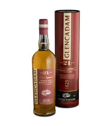Glencadam Single Malt Whisky 21 Años