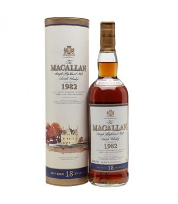 Macallan 18 Años Distilled 1982