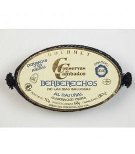 Berberechos De Cambados Gourmet 30/40 und. 120ml.