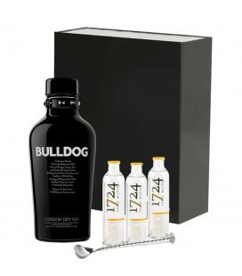 Estuche Gin Bulldog + Tónica 1724 + Cucharilla De Coctelería