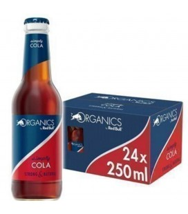 Red Bull Simply Cola Organic Envase Cristal Caja 24 und.