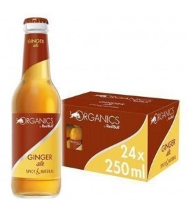 Red Bull Ginger Ale Organic Envase Cristal Caja 24und.