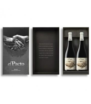 estuche 2 botellas el pacto autor y el pacto crianza - el pacto - rioja - vino