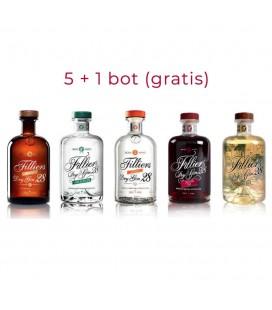 Filliers Bartender Choice 5x50 Cl. + 1 Gratis