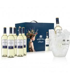 Case 6 Riscal Verdejo Organic 2020 + Champagnera